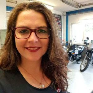 Belegte den dritten Platz beim Award Bike Woman of the Year 2015: Annette Heil.