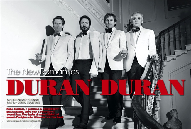 uomo vogue april 2011 duran duran