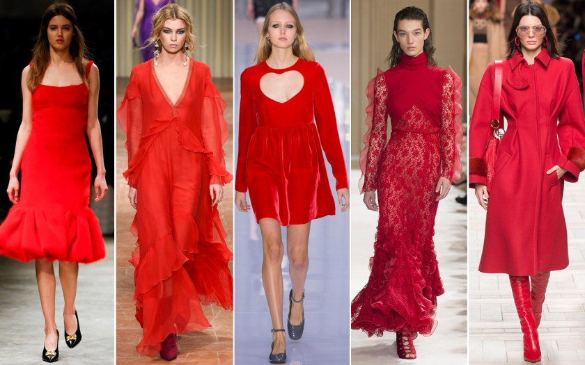 Image result for fall trend red