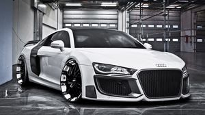 Audi full hd  hdtv  fhd  1080p wallpapers hd  desktop backgrounds         Preview wallpaper audi  r8  regula tuning  oxigin oxrock  r20