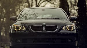 Bmw wallpapers hd  desktop backgrounds  images and pictures     Preview wallpaper bmw  520d  black  front view  front bumper