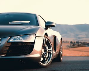 Download wallpaper 3840x2400 audi r8 v10 blue side view 4k ultra. Audi R8 Standard 5 4 Wallpapers Hd Desktop Backgrounds 1280x1024 Images And Pictures