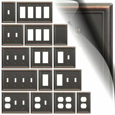 wall plates amerelle wall plate aged bronze chelsea carded candiidonline com
