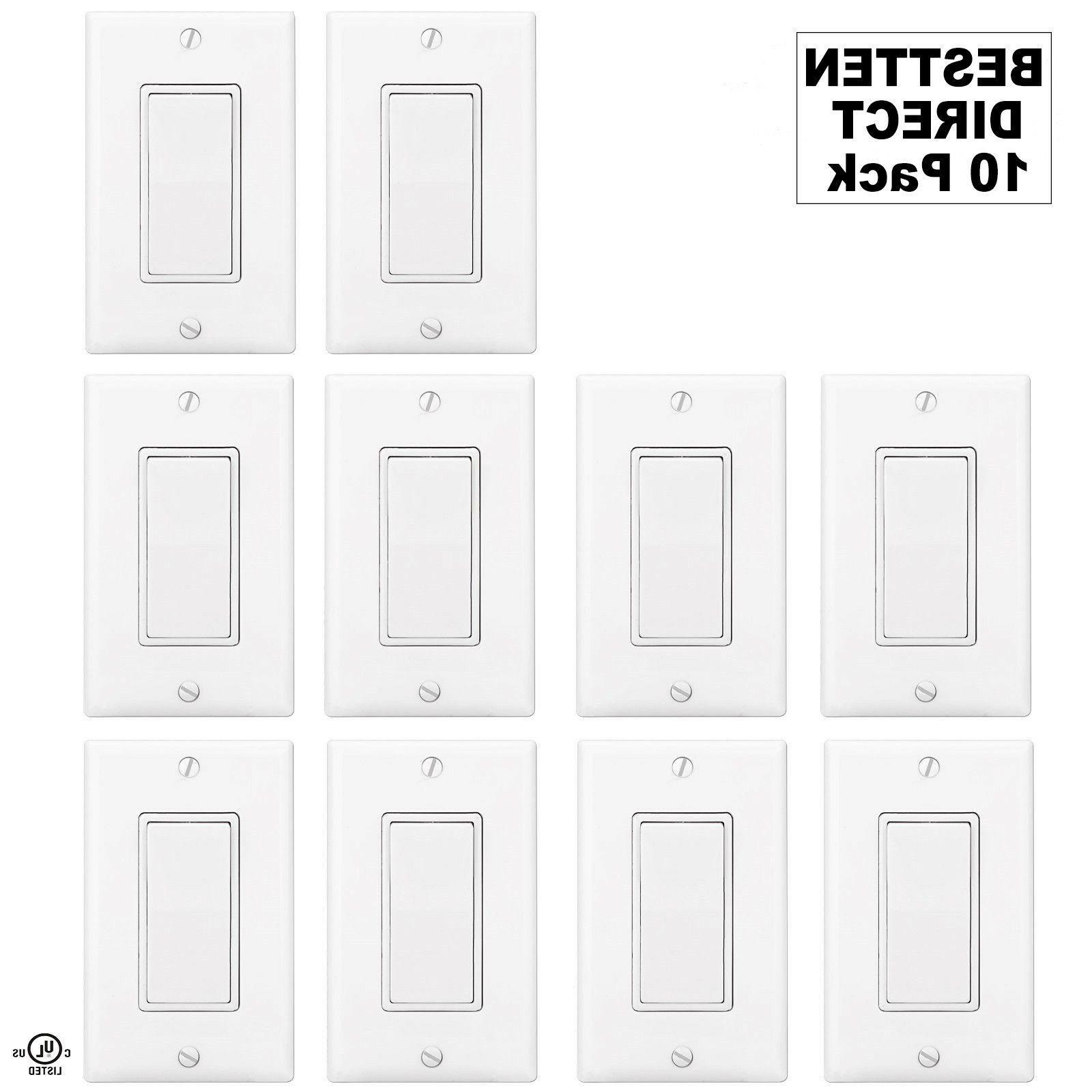 Bestten Wall Light Switch Interrupter Decor
