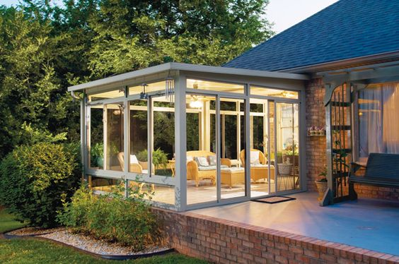 Patio Designs Perfect For Your Home This Summer on Small Enclosed Patio Ideas id=54068