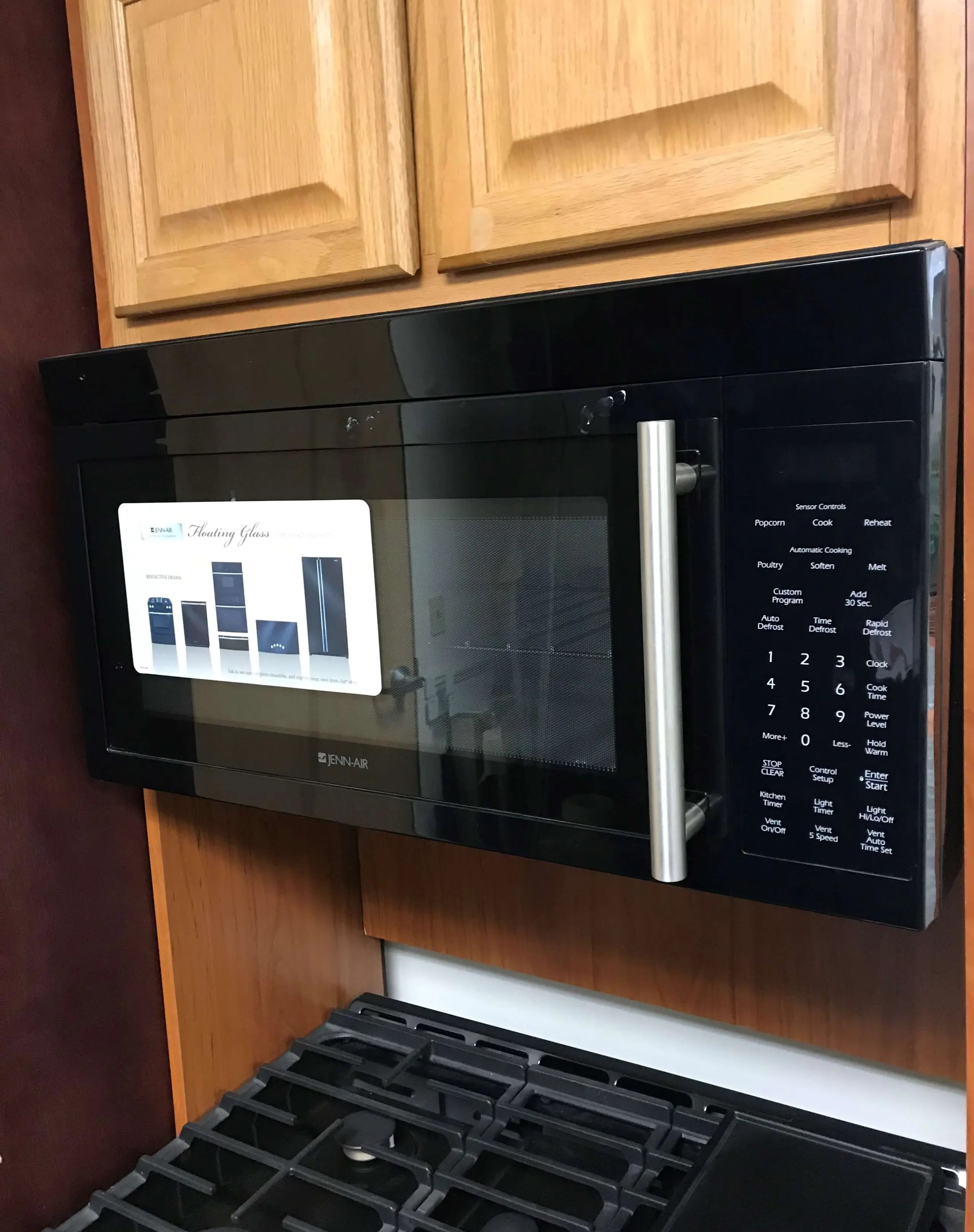 30 over the range microwave oven part of big savings display model suite package