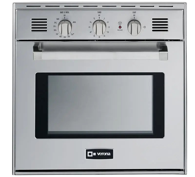 """Stainless Steel 24"""" Gas Built-In Oven"""