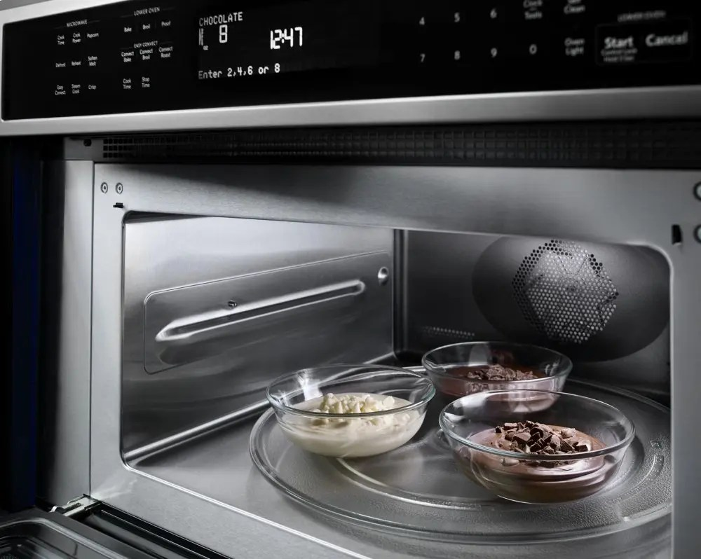 """30"""" Combination Wall Oven with Even-Heat™ True Convection (Lower Oven) - Stainless Steel Photo #4"""