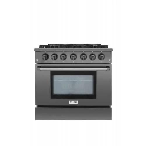 kitchen 36 inch professional gas range