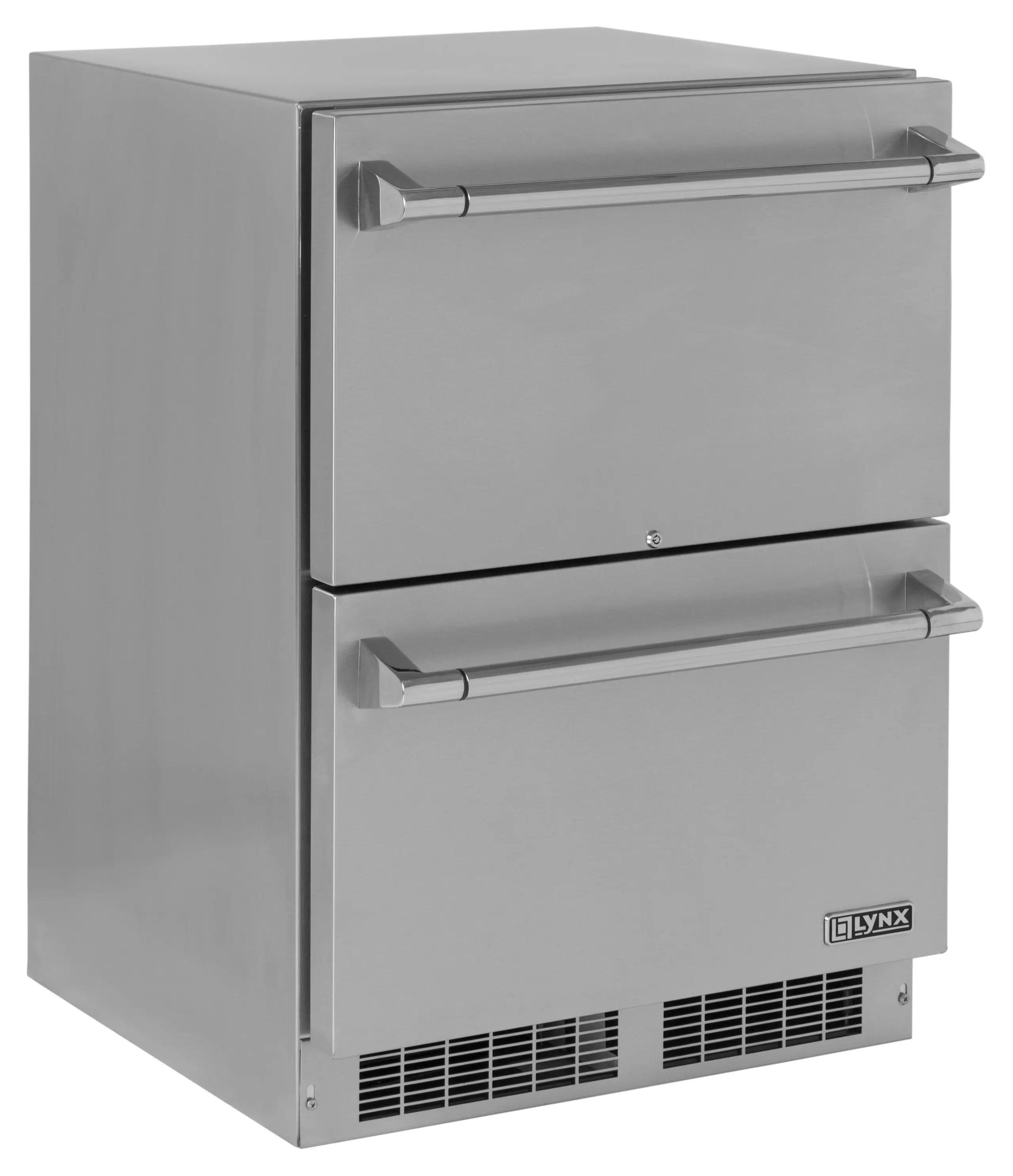 "24"" Two Drawer Refrigerator"