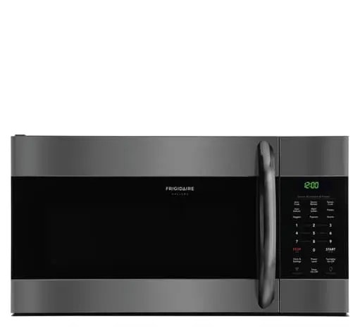 frigidaire gallery 1 7 cu ft over the range microwave