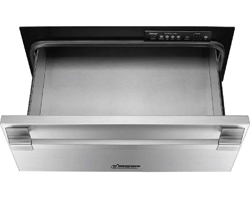 """24"""" Pro Warming Drawer, Silver Stainless Steel"""