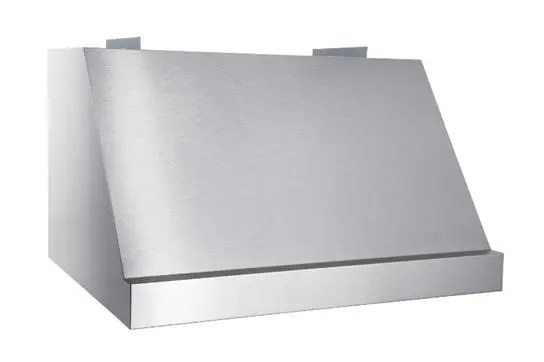 """WP28 - 48"""" Stainless Steel Pro-Style Range Hood with 300 to 1650 Max CFM internal/external blower options"""