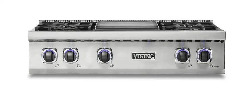 "36"" 7 Series Gas Rangetop - VRT"