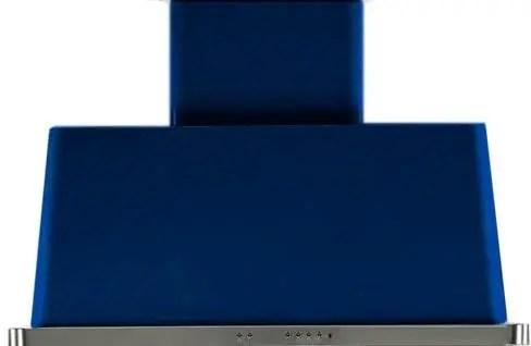 Majestic 40 Inch Blue Wall Mount Convertible Range Hood