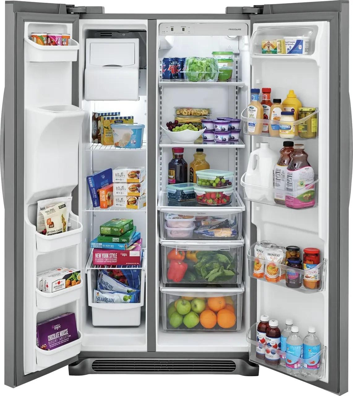 22.1 Cu. Ft. Side-by-Side Refrigerator Photo #4