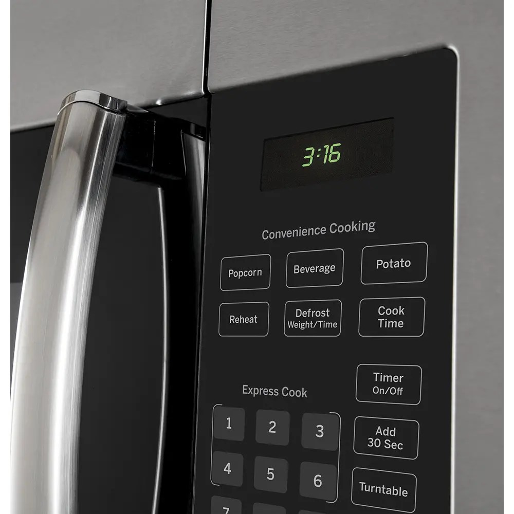ge 1 6 cu ft over the range microwave stainless steel jvm1635sfc