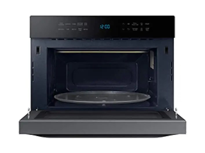 1 2 cu ft powergrill duo countertop microwave with power convection and built in application in black