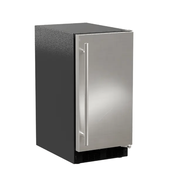 15-In Low Profile Built-In Clear Ice Machine, Gravity Drain Application with Door Style - Stainless Steel
