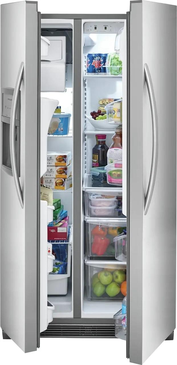 22.1 Cu. Ft. Side-by-Side Refrigerator Photo #5