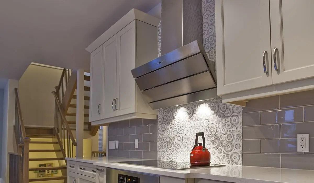 """36"""" vertical wall hood stainless steel"""