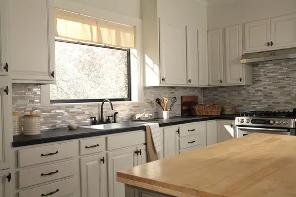 oil rubbed bronze two handle kitchen faucet