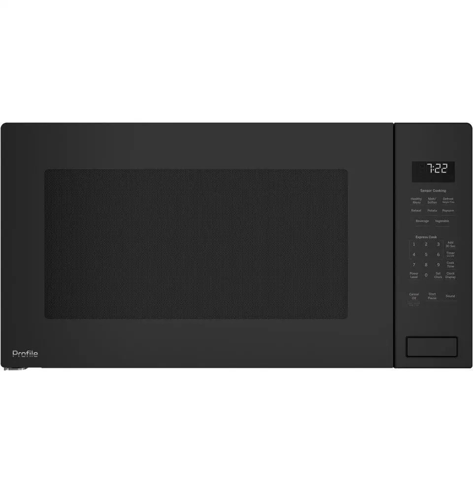 ge profile 2 2 cu ft built in sensor microwave oven