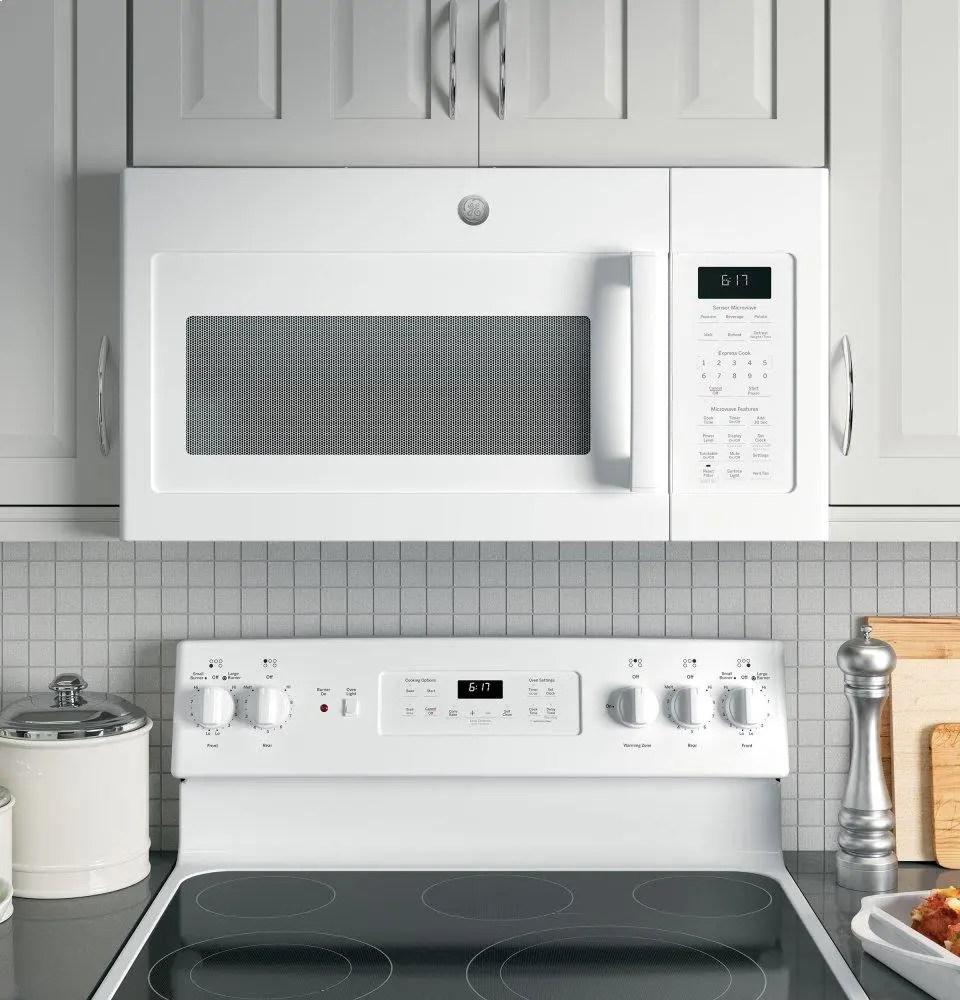 ge 1 7 cu ft over the range sensor microwave oven