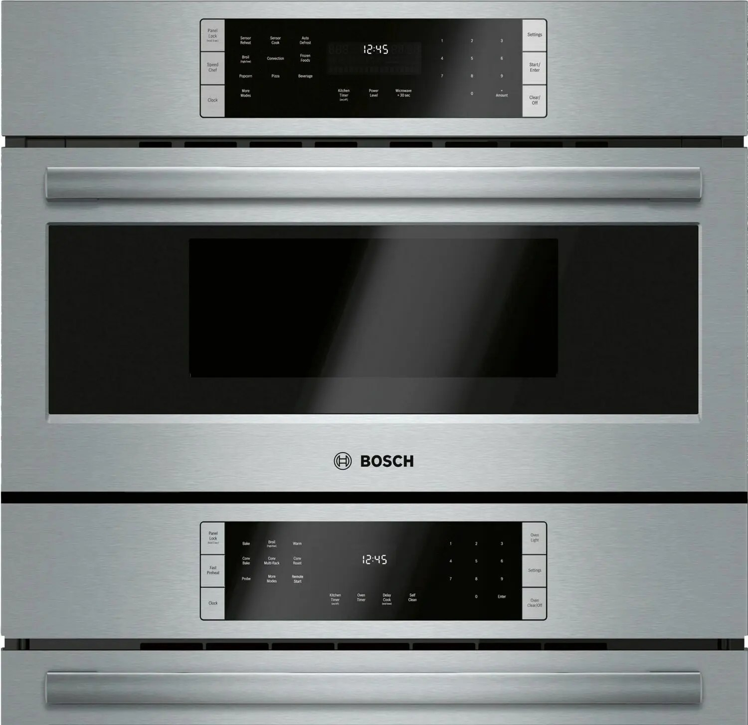 800 Series Combination Oven 30'' Stainless Steel  Photo #2