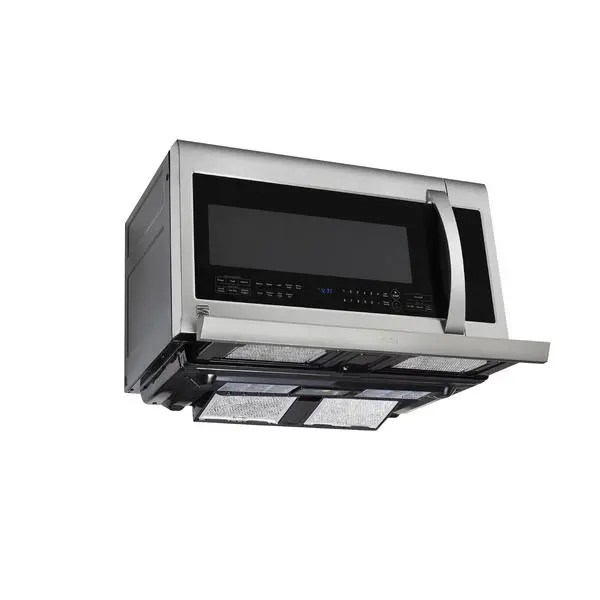 2 2 cu ft over the range microwave oven stainless