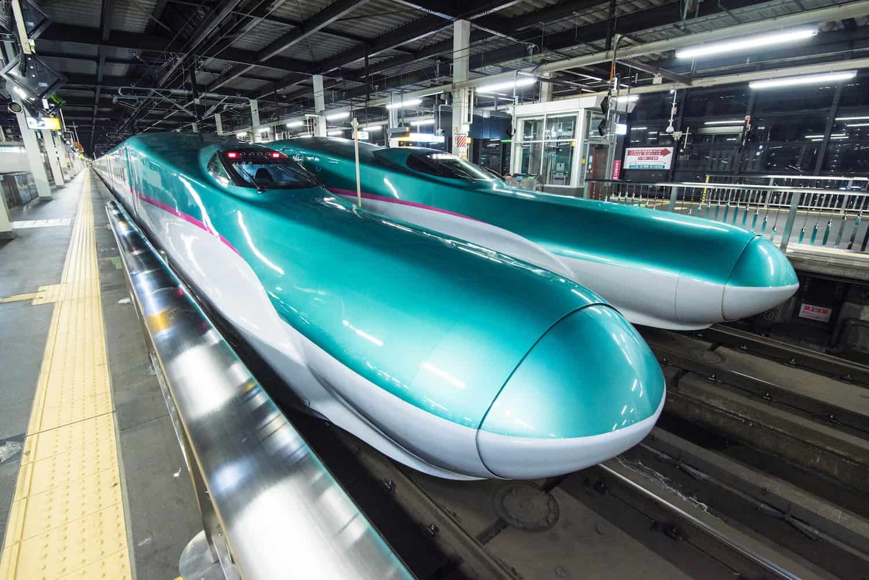 Japan S Fastest Shinkansen Bullet Train We Blog The World
