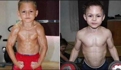 Meet the world's strongest boys : Giuliano and Claudiu
