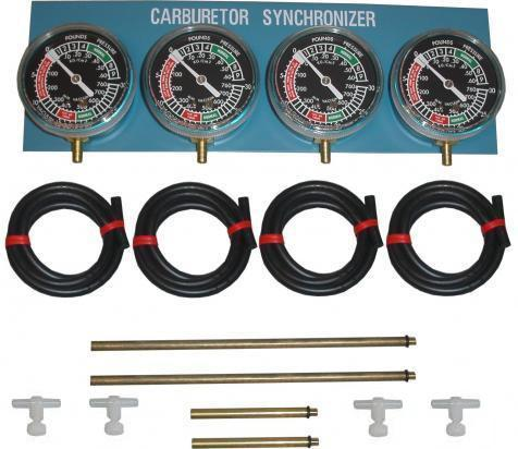 Vacuum Gauges Four Cylinder