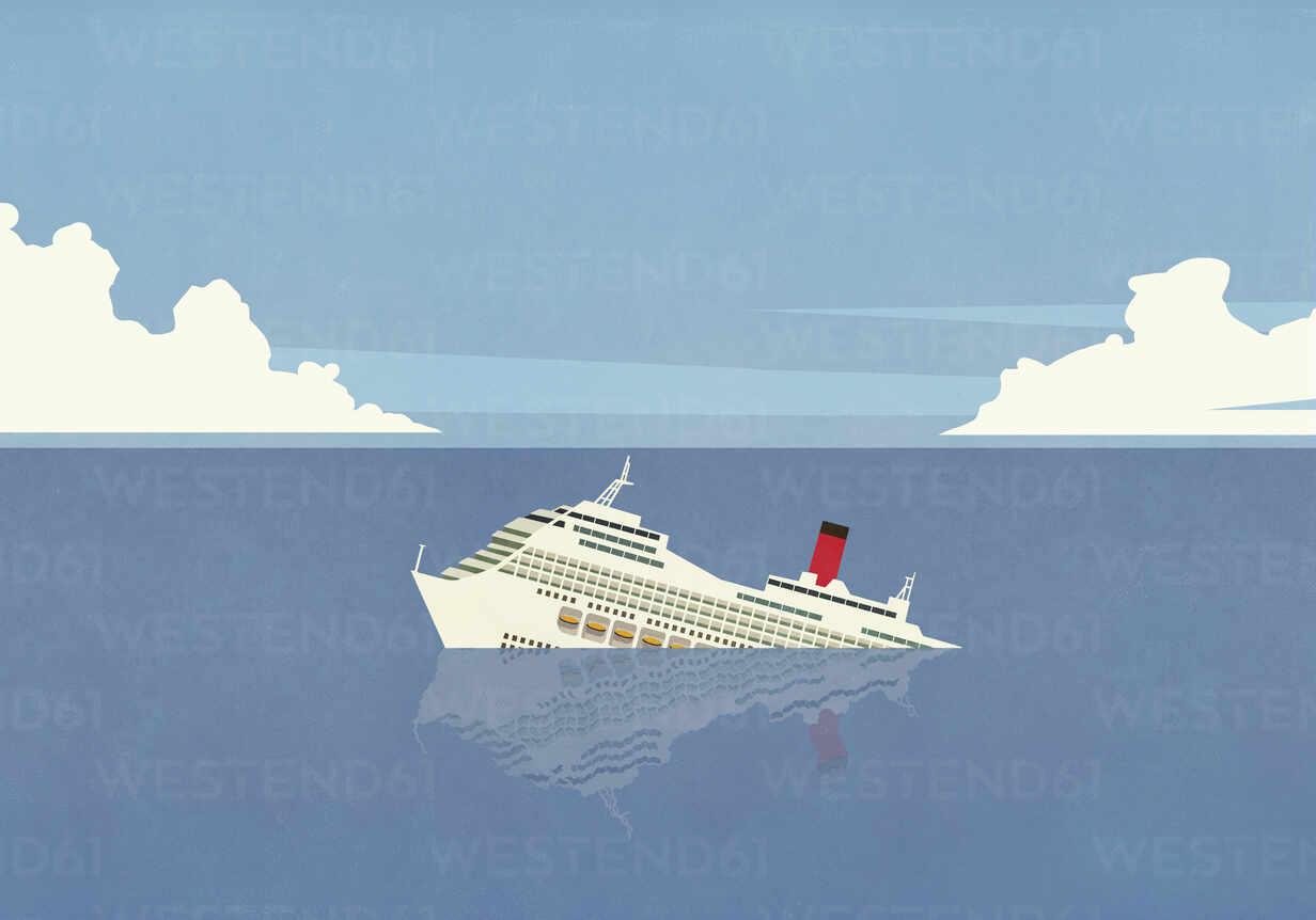 https www westend61 de en imageview fsif05347 cruise ship sinking in ocean
