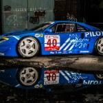This Blue Ferrari F40 Lm Is Up For Auction Next Month Wheels Ca
