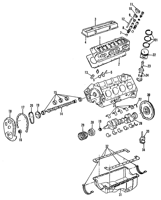 V8 Engine Block