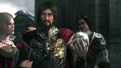 Cesare Borgia - Στην επίθεση ο Cesare Borgia κλέβει το Μήλο.