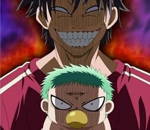 Beelzebub & Oga: Fallido intento de sonreír