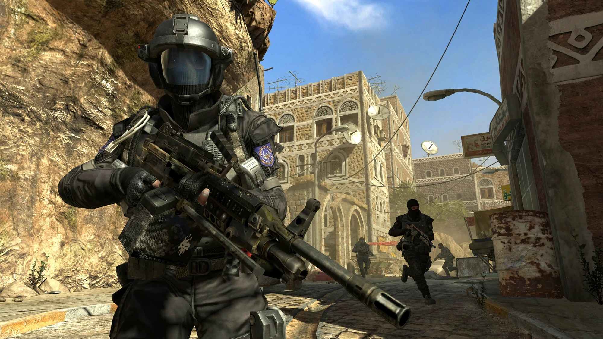Call of Duty: Black Ops II. Soldier in Yemen. (Photo Credit: Call of Duty: Black Ops II Wikia)