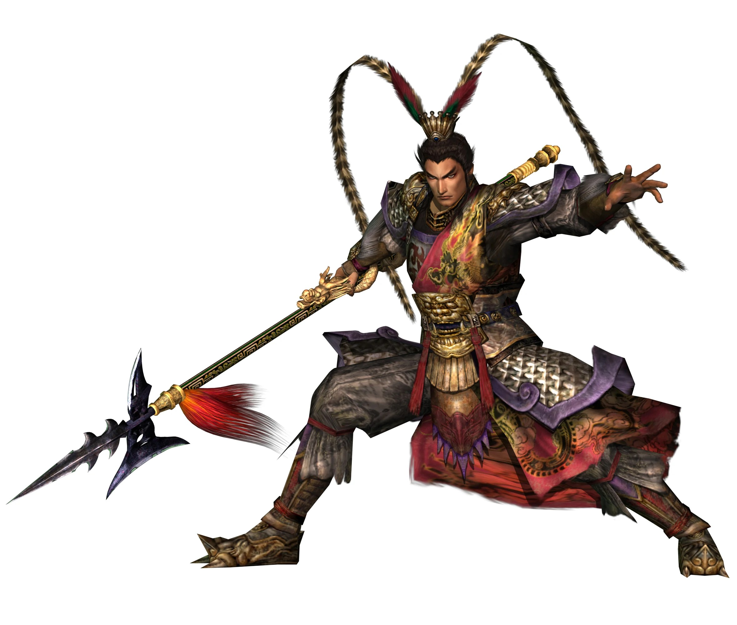 classic characters lu bu warrior without rival jerk bloodlust