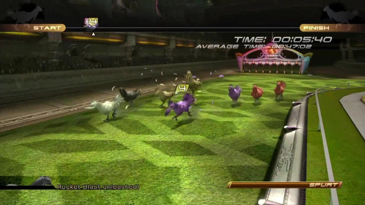 chocobo races