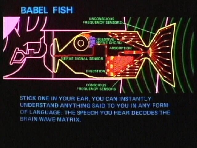 The Babel Fish Which Disproves God