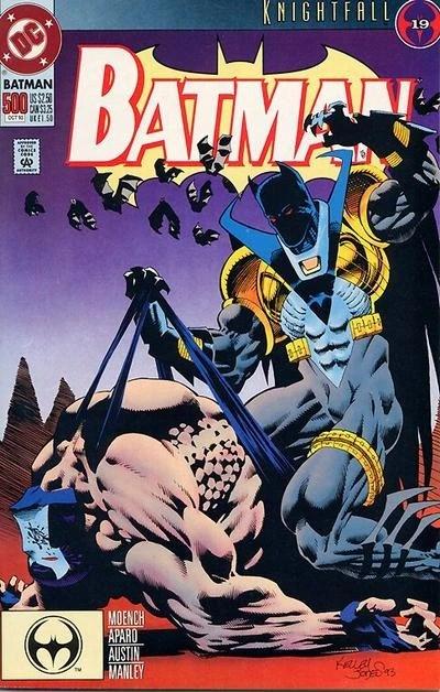 Azrael as Batman