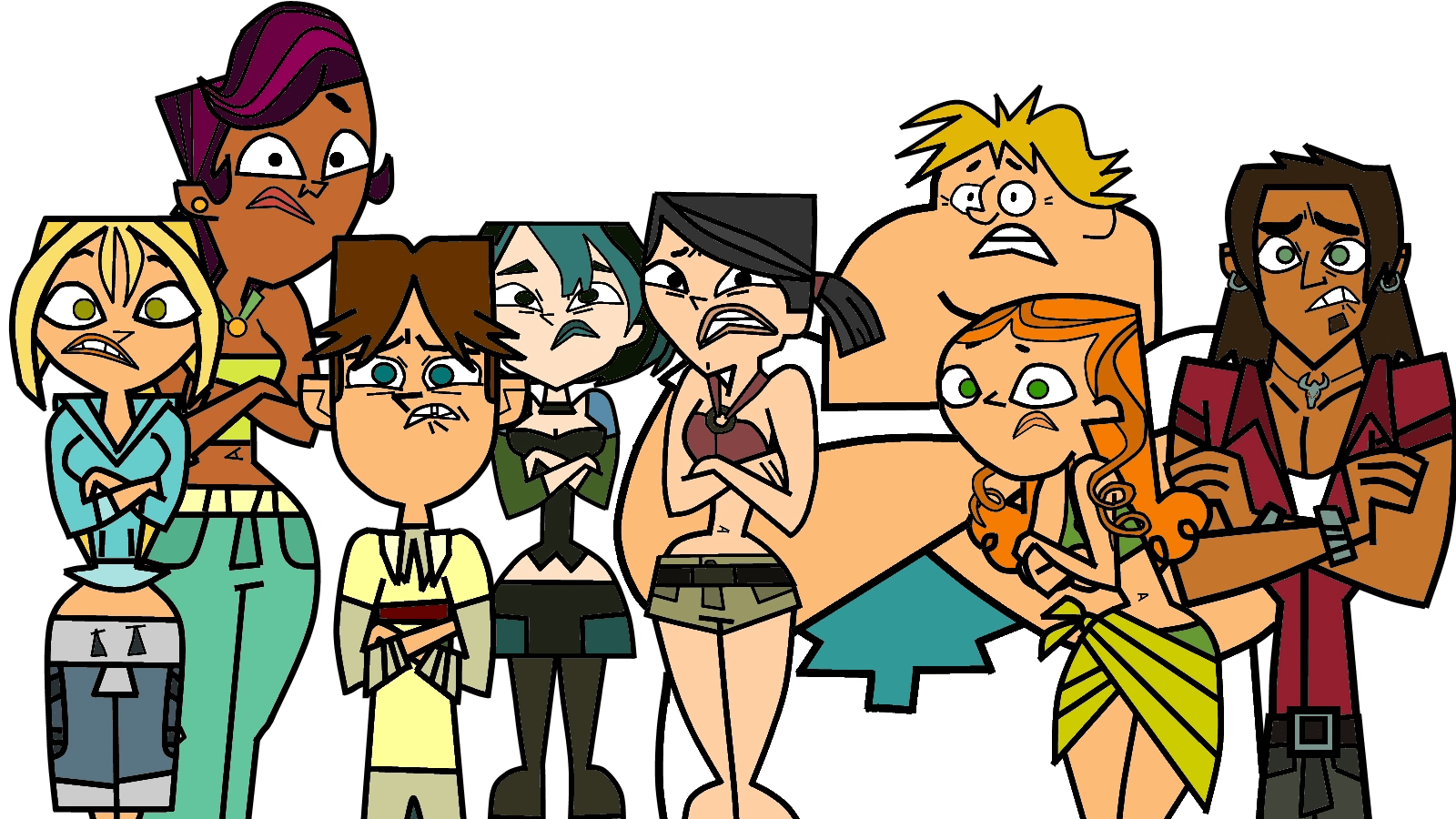 Beth Total Drama Islands Coloring Pages