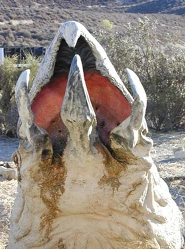 Christian Grey's junk is like the monster from Tremors