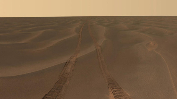 Opportunity rover marte