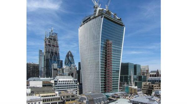 Walkie-talkie Building di Londra (Inghilterra)