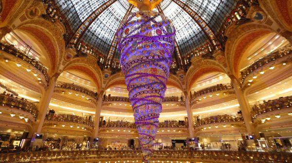 Galleries Lafayette di Parigi - Francia