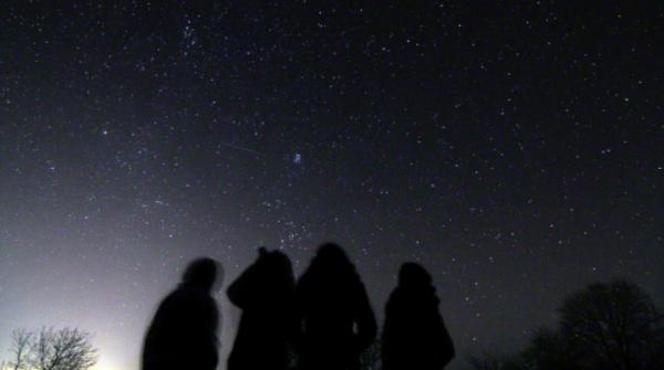 Le Geminidi viste dall'osservatorio di Avren,