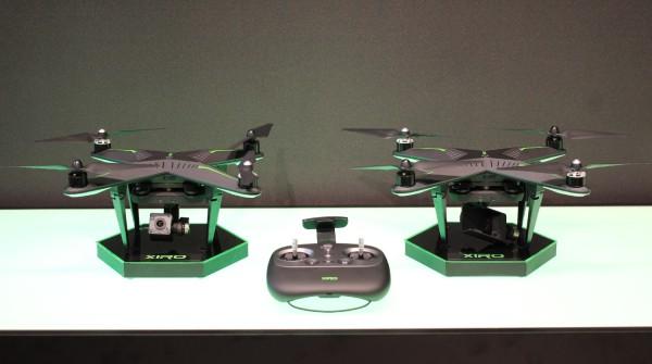Due modelli di droni Xiro